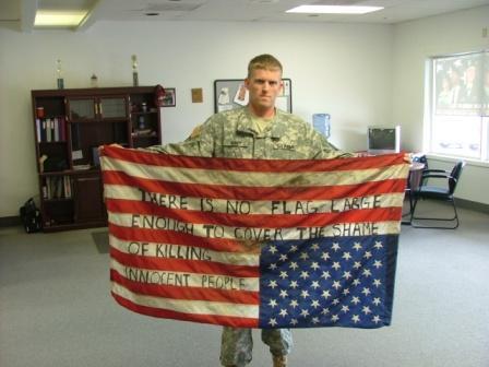 guerra irak bandera