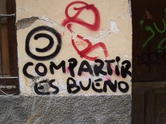 grafitti compartir