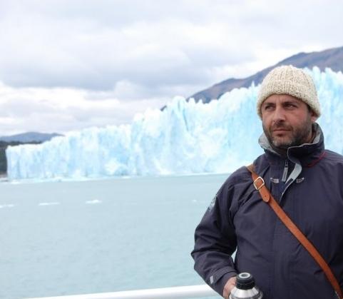 Mario en La Patagonia